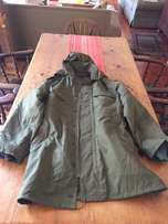 military style parka jacket for sale brand new