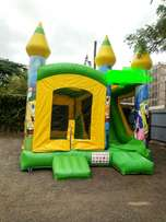 New bouncing castle with slide