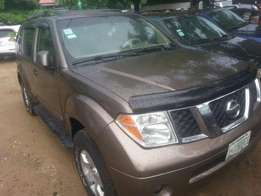 Perfectly used nissan pathfinder 2006 buy n drive tincan cleared