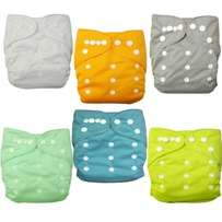 Washable or reusable diapers