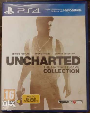Uncharted Collection for Ps4 game #-# Used