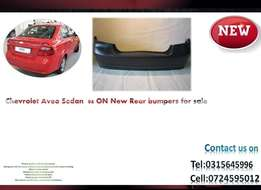 Chevrolet Aveo Sedan 2006 ON New Rear bumpers for sale price R1650