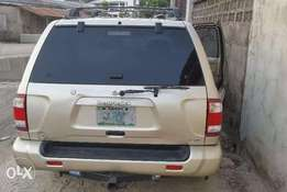 First Body Nissan Pathfinder 2003 model NEATLY USED BY A LADY