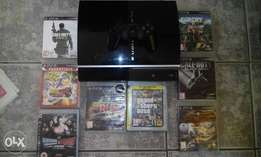 Ps3 with 8 Games and one remote