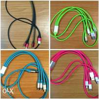 Android original fast 3in1 cable