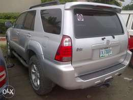 Xcellent and neatly Ist body used Toyota 4 runner silver