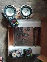 Star Sound amplifier and speakers Audiopipe