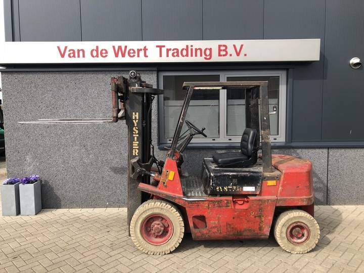 heftruck HYSTER H2.00XL triplo 425 freelift sideshift I... - 1991
