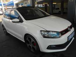 2013 VW Polo 6 1.4 GTI For R213000