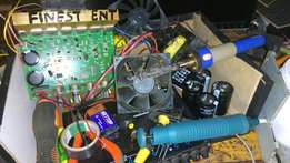 Amplifier modifications and repair to make them advanced