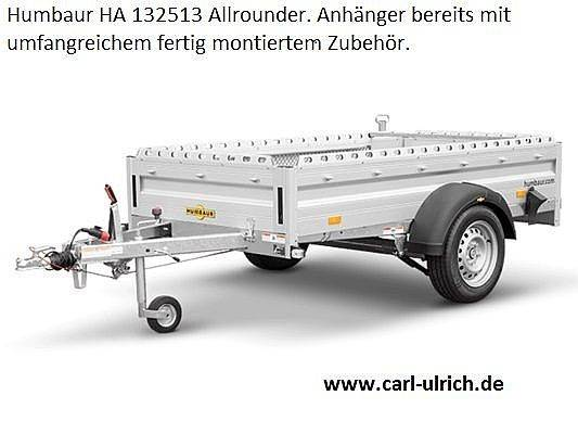 Humbaur HA132513 Allrounder RSD Einachser gebremst 1,3to