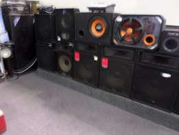 Speakers and Subs at Cash Converters Montague Gardens