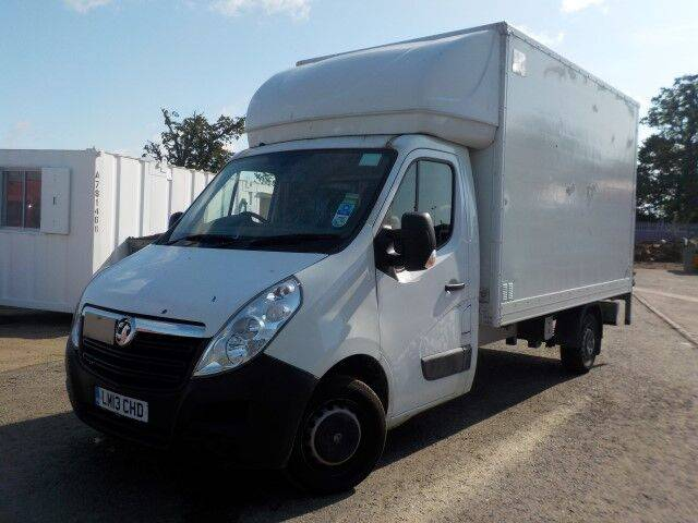 movano f3500 l3h1 cdti closed box truck for sale by auction - 2013