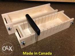 We make durable wooden soap mold with divider in various sizes