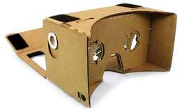 Virtual Reality 3D Viewing Google Cardboard Large