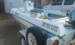 fishing boat for sale with 70 hp engine