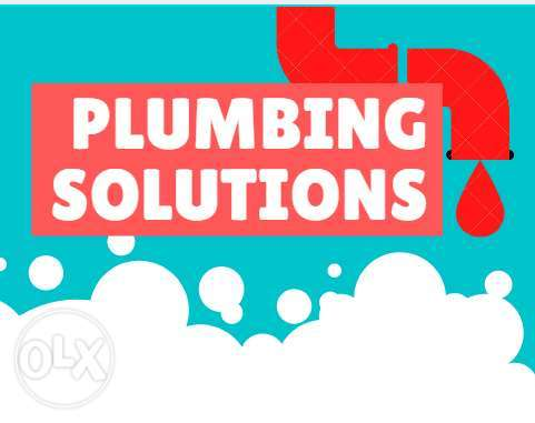 We can many work of plumbing in Muscat,