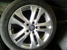 17inches Mercedes compressor mag rims