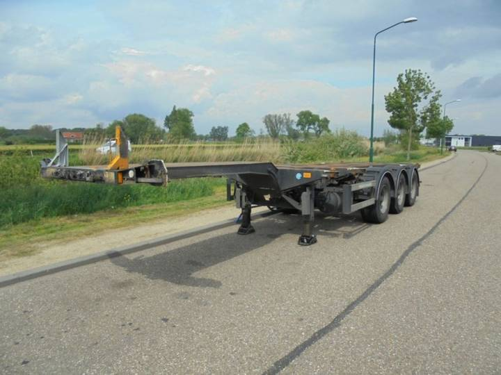 D-tec 3-AXLE CHASSIS / EXTENDABLE / MULTI / BPW / LIFTAXLE / - 2007