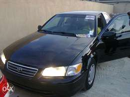 Clean Toyota Camry 2002 black