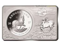 Silver 2ounce Bar boxed issued for the 50th anniversary of the South A