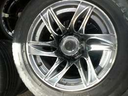 6 hole bukkie rims and tyres