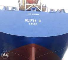 Olivia 11 vessel selling for 5M dollars