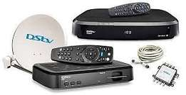 Dstv dish,decoders and all dstv accesories sold at our shop