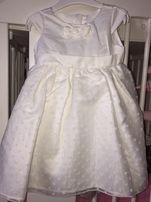 b8c7d931e2 Nowa sukienka COOL CLUB na chrzest komunię wesele rozm 86 Przepiękna!