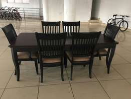 Imported 6 seater wooden dining
