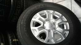 For agood secondhand tyre and mags