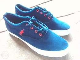Cool Blue Polo Sneakers