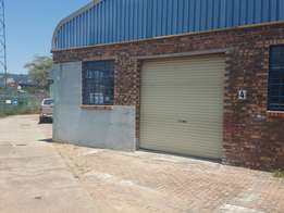 127m2 Workshop/Depot To Let Nelspruit