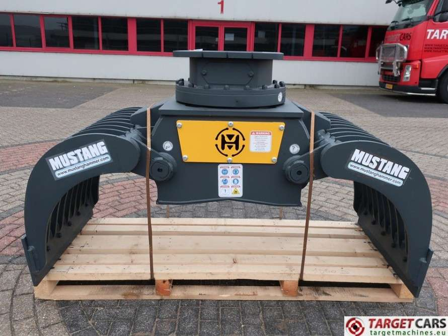 Mustang GRP1500D Hydr.Rotation Sorting 85cm Grapple 13~19T