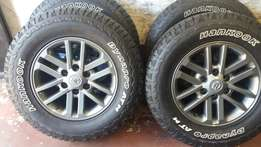 16 inch mag rims available in stock