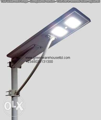 Integrated solar light 30w store energy during daylight modulate it on Wuse 2 - image 1