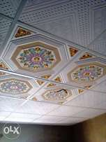 Suspended P.V.C ceilings