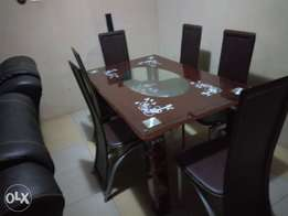 Quality Awesome Six-sitter Dining Table Set