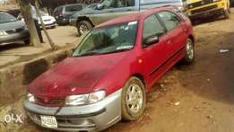 A clean registered Nissan almera for sale, auto/ac.