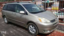 Tincan Clear Tokunbo Toyota Sienna, 2005, Very Okay To Buy From GMI.