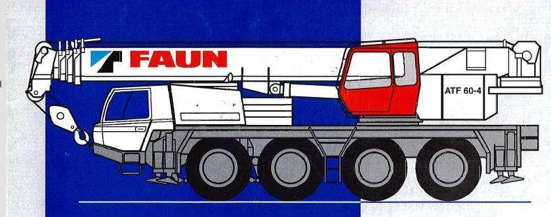Tadano Faun Atf 60-4 - 2000