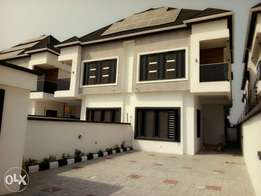 Newly finished 4bedroom semi-detached duplex with BQ in an estate