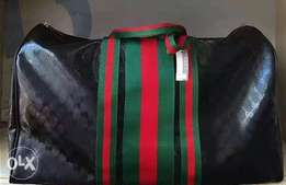 Gucci leather travelling bag