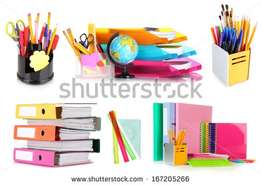 for all your stationery needs,we are here at you service