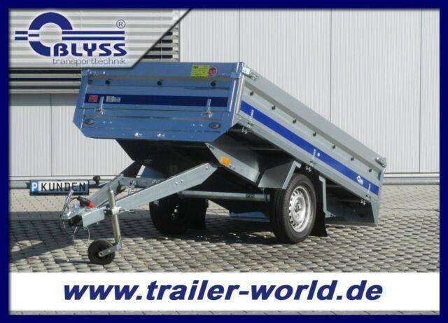 Blyss Hochlader 254x135x38cm PKW Anhänger 750kg GG