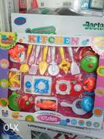 Cooking play set for kids
