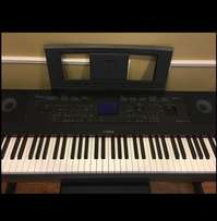 The new Yamaha DGX 660 Digital Piano black and white