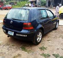 A few month used 2005 VOLKSWAGEN GOLF 4 manual gear for sales