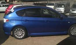 Just arrived Subaru Impreza hatchback nice subaru color
