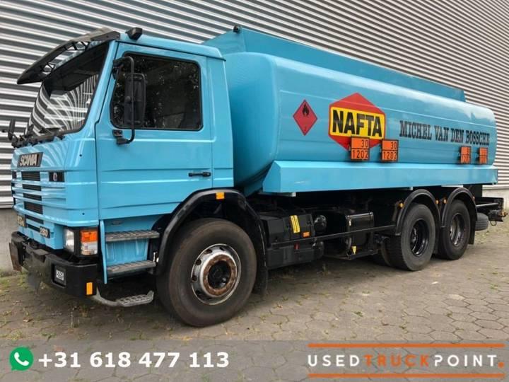 Scania 93H 280 / Full Steel / 6X2 / 20.000 Ltr Stokota / Airco / - 1992